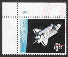 United States - Scott #2544b Used - Corner Single - United States