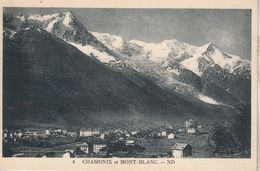 Chamonix Et Mont-Blanc - ND - Très Beau Panorama - Chamonix-Mont-Blanc