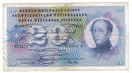 Switzerland 20 Fr. 1968, F. - Switzerland