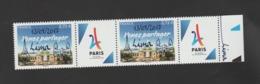 FRANCE / 2017 / Y&T N° ???? ** : Candidature De Paris Aux JO 2024 Surchargé Lima 13/09/17 X 2 - Gomme D'origine Intacte - Frankreich