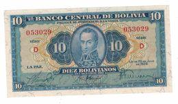 Bolivia 10 Bolivianos, 1928 , UNC - Bolivia
