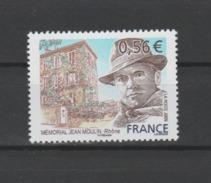 FRANCE / 2009 / Y&T N° 4371 ** : Jean Moulin - Gomme D'origine Intacte - Ungebraucht