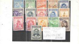 Costarica PA 1957 War  Scott.C236/272+ N.16 Valori Usati/Nuovi See Scans - Costa Rica