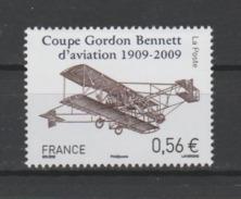 FRANCE / 2009 / Y&T N° 4376 ** : Coupe Gordon-Bennett D'aviation - Gomme D'origine Intacte - Ungebraucht