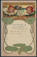 Ansichtskarte Jugendstil Kinder Kunst Künstler  - Künstlerkarten