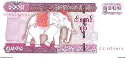 Myanmar - Pick 83 - 5000 Kyats 2015 - Unc - Myanmar