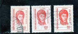 ARGENTINE     1977  Y. T. N° 1089  Oblitéré - Argentina