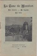 PETIT LIVRET Sur LA CANE De MONTFORT 1934 - Religion & Esotericism