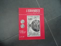REVUE  L'ECHANGISTE UNIVERSEL   69é ANNEE N° 901 OCTOBRE 1975 - Tijdschriften: Abonnementen