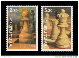 Moldova (Transnistria) 2013 No. 425/26 Chess Player Anatoly Lutikov MNH ** - Moldova