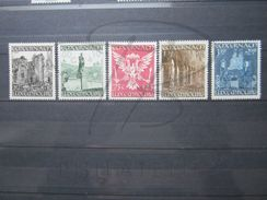 VEND BEAUX TIMBRES DU LUXEMBOURG N° 392 - 396 , XX !!! - Luxembourg