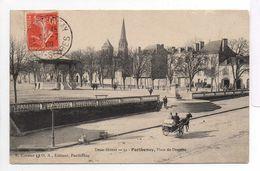 - FRANCE (79) - CPA Ayant Voyagé PARTHENAY 1909 - Place Du Drapeau - Edition E. Cordier N° 52 - - Parthenay