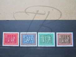 VEND BEAUX TIMBRES DU LUXEMBOURG N° 476 - 479 , XX !!! - Luxembourg