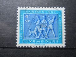 VEND BEAU TIMBRE DU LUXEMBOURG N° 480 , X !!! - Luxembourg