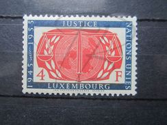 VEND BEAU TIMBRE DU LUXEMBOURG N° 498 , XX !!! - Unused Stamps