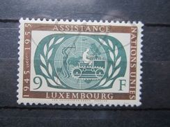 VEND BEAU TIMBRE DU LUXEMBOURG N° 499 , XX !!! - Luxembourg