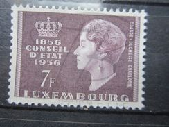 VEND BEAU TIMBRE DU LUXEMBOURG N° 519 , XX !!! - Luxembourg