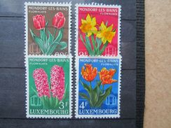 VEND BEAUX TIMBRES DU LUXEMBOURG N° 490 - 493 , XX !!! - Unused Stamps
