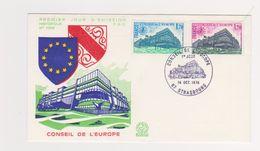Enveloppe 1er Jour  / N  1096 / Conseil De L'Europe / Strasbourg / 14 Octobre 1978 - 1970-1979