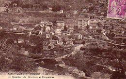 Saint Martin Vésubie (A. M. )- Quartier Du Martinet Et Rouguieres (circulé En 1933) - Saint-Martin-Vésubie