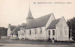 Environs De Louviers – Pinterville – L'eglise - Louviers
