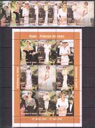 B50 1998 DE GUINEE FAMOUS PEOPLE ROYALTY PRINCESS DIANA 1KB+1SET MNH - Femmes Célèbres