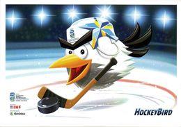 HOCKEY SUR GLACE Championnats Du Monde 2012 En FINLANDE Et SUEDE MASCOTTE OISEAU - Deportes De Invierno