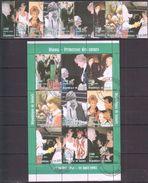 B51 1998 DE GUINEE FAMOUS PEOPLE ROYALTY PRINCESS DIANA 1KB+1SET USED - Femmes Célèbres