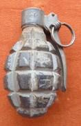 Grenades Françaises Modèle 1916 Rare Allumeur 35 Daté 39, , Mine, 1914-18, 1939-45,Equipement - Decorative Weapons