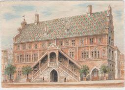 CPM: MULHOUSE  (Dpt68): L'Hôtel De Ville En 1956.     (D1847) - Mulhouse