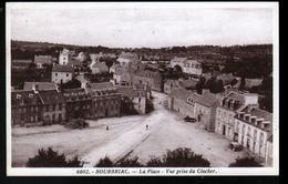 22, BOURBRIAC, LA PLACE, VUE PRISE DU CLOCHER - Andere Gemeenten