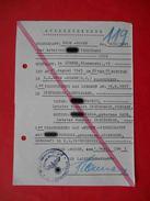 KZ Lager GROSS ROSSEN 1943 Genuine Document. Judaica - Documents Historiques