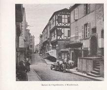 1900 - Iconographie - Clermont-Ferrand (Puy-de-Dôme) - La Maison De L'Apothicaire - FRANCO DE PORT - Vieux Papiers