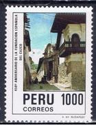 PE+ Peru 1984 Mi 1289 Mnh Cuzco - Peru