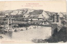 ---31 ---- CARBONNE  Le Pont Suspendu TTB  Timbrée - Francia