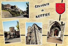 NEFFIES  SOUVENIR  QUATRE VUES - Otros Municipios