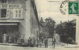 42 Saint Germain Laval Rue De Roanne Hotel Du Nord  Ref 1358 - Saint Germain Laval