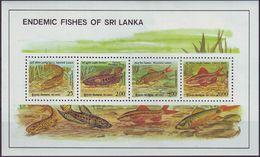 SRI LANKA - BL 41 ** (2x) - Cote 12,00 Euro (V 2) - Sri Lanka (Ceylan) (1948-...)