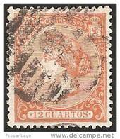 ESPAÑA 1866 - Edifil #82 - VFU - Usati
