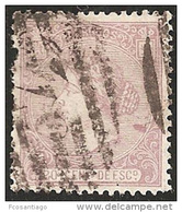 ESPAÑA 1866 - Edifil #85 - VFU - Usados
