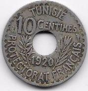 Tunisie 10 Centimes 1920 - Other - Africa