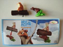 Age De Glace 4. - Hyrax. - Figurine Kinder DC226, Avec Bpz. - Familles