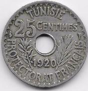Tunisie 25 Centimes 1920 - Coins