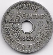 Tunisie 25 Centimes 1920 - Monnaies