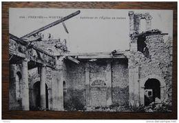 FRESNES SUR WOEVRE - Intérieur De L'église En Ruines - Other Municipalities
