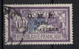 SYRIE       N°  YVERT    70      OBLITERE       ( O   3799 ) - Syrien (1919-1945)