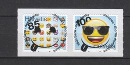Schweiz  Gestempelt     2503-2504 Emoji Skl  Neuausgabe 7.9.2017 - Schweiz