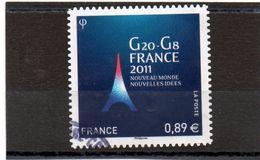 FRANCE   0,89 €  2011    Y&T :598      Adhésif   Oblitéré - France