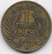 Tunisie 1 Franc 1945 - Monnaies