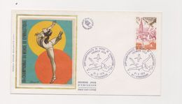 Enveloppe 1er Jour / 19 ème Championnat Du Monde De Gymnastique / Strasbourg  / 21-10-78 - 1970-1979